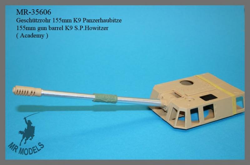 MR-35606   155mm gun barrel K9 S.P.Howitzer      ( Academy )