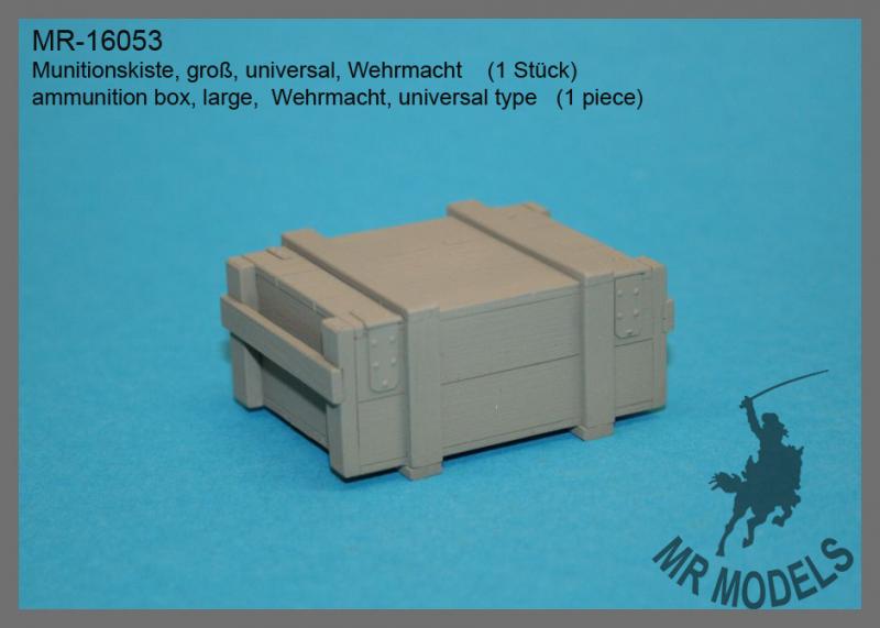 MR-16053  Munitionskiste, groß, Wehrmacht  (1 Stück)