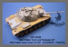 MR - 35088 M60 Patton Turm und Rüstsatz US Army [Academy / Tamiya