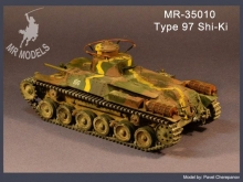 MR - 35010 Japanese Command Tank Type 97 Shi-Ki