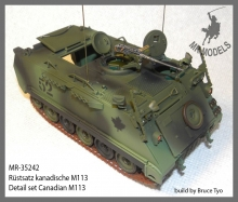 MR - 35242  Detail set Canadian M113