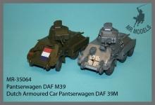MR - 35064  Pantserwagen DAF M39  Niederlande  Neu überarbeitet