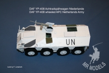 MR - 35081 DAF YP-408 wheeled APC Netherlands Army complete kit