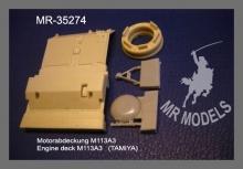 MR - 35274 Motorabdeckung M113 A3 (für Tamiya)