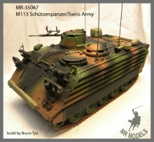 MR - 35067  Swiss Army M113 Schuetzenpanzer 63/89 w. add-on armour