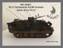 MR - 35067  Swiss Army M113 Schuetzenpanzer 63/89 w. add-on armour