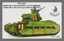 MR - 35354 Matilda Mk.II / III Nordafrika 3inch Close Support Tank