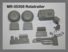 MR - 35356 Rotatrailer Tankanhänger für Crusader, Valentine, Churchill