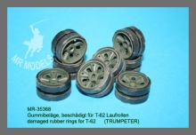 MR - 35368  damaged rubber rings for T-62      (TRUMPETER)