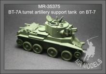 MR-35375  BT-7A Turm Artillerieunterstützungspanzer auf BT-7