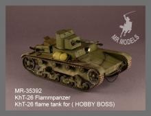 MR-35392  KhT-26 flame tank  ( HOBBY BOSS)