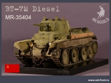 MR-35404 update & stowage BT-7M Diesel engine