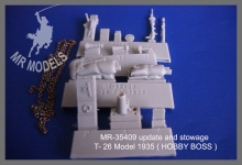 MR-35409 update and stowage T- 26 Model 1935 ( HOBBY BOSS )