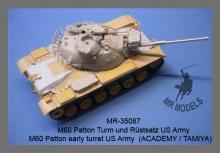 MR - 35087 M60 Patton Turm und Rüstsatz US Army (Academy / Tamiya)