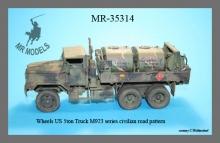 MR-35314 Radsatz US 5ton Truck M923 Serie Straßenreifen