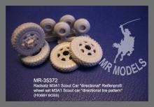 MR-35372 RadsatzM3A1 Scout Car directional Reifenprofil  HOBBY BOSS