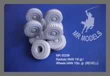 MR - 35256 Rädersatz MAN 10t gl. [für REVELL]