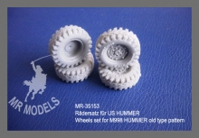 MR-35153  Rädersatz für US HUMMER
