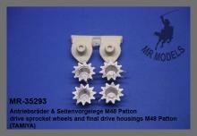 MR-35293  Antriebsräder und Seitenvorgelege M48 Patton