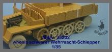 MR-35302  Vorderräder/Rästsatz Fahrwerk sWS