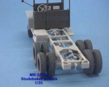 MR-35334 Neu Überarbeitet! Rädersatz Studebaker US6 v-profil