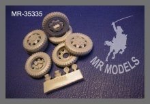 MR-35335  Rädersatz (8-Lochfelge) & Zubehör Opel Blitz