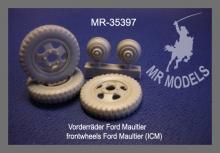 MR-35397  Vorderräder Ford Maultier (ICM)