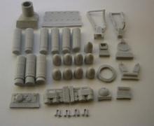 MR-35032  Eastern Front detailing set & add-on armour    (TAMIYA)