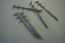 MR - 50015 Universal-Laschen für Griffe, Halterungen, Stützen etc.