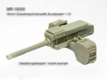 MR - 16008 40mm Granatmaschinenwaffe Bundeswehr 1:16