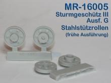 MR-16005  Stahlstützrollen Typ 1 StuG III Ausf.G - 1:16
