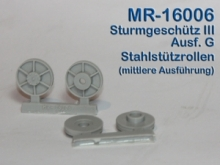 MR-16006  Stahlstützrollen Typ 2 StuG III Ausf.G - 1:16