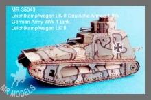 MR-35043  Leichtkampfwagen LK-II WWI