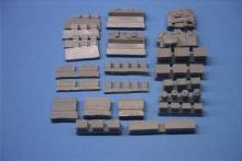 MR-48008 Update Set und Gepack M4 Sherman Britische Armee