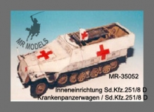 MR-35052  Sd.Kfz.251/8 Ausf.D Ambulance interior set [TAMIYA]