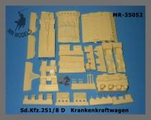 MR-35052  Sd.Kfz.251/8 Ausf.D Ambulance interior set [TAMIYA]