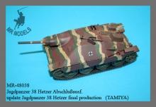 MR-48038  Rüstsatz Jagdpanzer 38 Hetzer Abschlußausführung