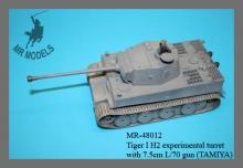 MR-48012  Tiger I H2 Turm mit 7,5cm Kwk