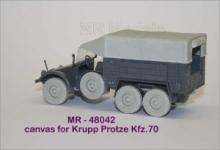 MR-48042 Verdeck für Kfz.70 Krupp Protze