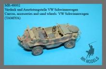 MR-48002  Verdeck und Ausrüstungsteile VW Schwimmwagen