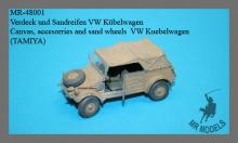 MR-48001  Verdeck und Sandreifen VW Kübelwagen