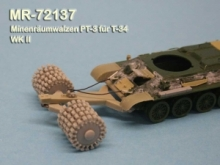 MR - 72137 Minerollers PT-3 for T-34 Soviet Army WW 2