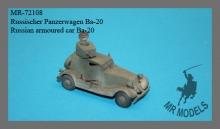 MR-72108 Russischer Panzerwagen Ba-20