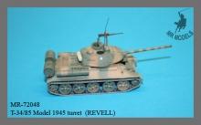 MR-72048 T-34/85 Modell 1945 Turm