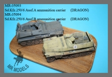 MR-35094  Sd.Kfz.250/6 Ausf. B  Munitionspanzerwagen