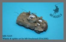 MR-72105  Wheels & update set for M8 Greyhound (ITALERI)
