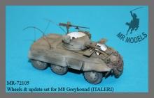 MR-72105 Räder / Rüstsatz M8 Greyhound (ITALERI)