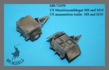 MR-72059 US Munitionsanhänger M8 und M10