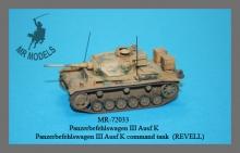 MR-72033 Panzerbefehlswagen III Ausf. K