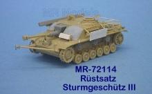 MR-72114 Rüstsatz u. Gepäck Sturmgeschütz III spät